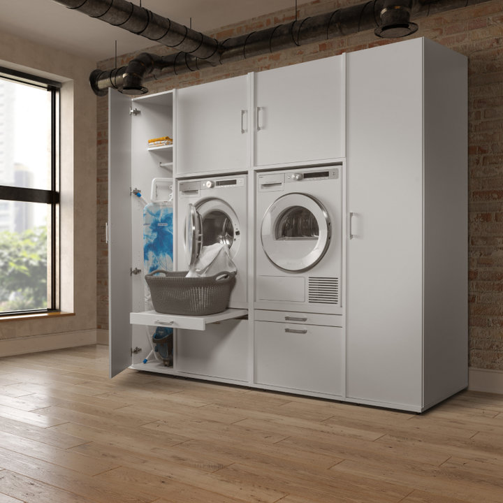 Utility Room Ideas Design Layout Practical Storage Cabinets