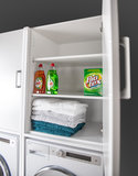 Cabinet wall 2.1 | Practical cupboard for washing machine and dryer_