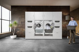Cabinet wall 2.2 Elite | Practical cupboard for washing machine and dryer_